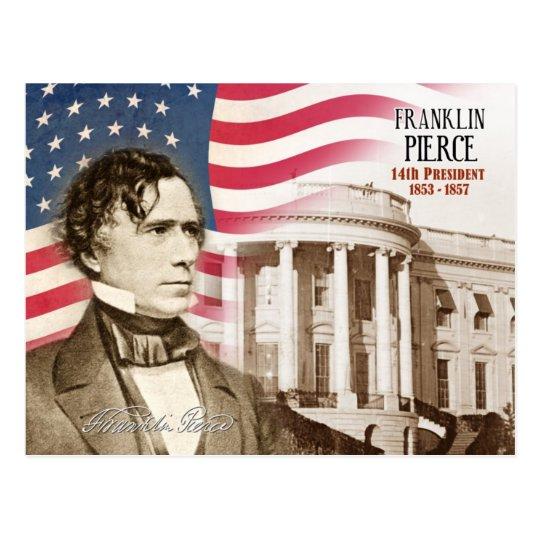 Franklin Pierce - 14to presidente de los E.E.U.U. Postal