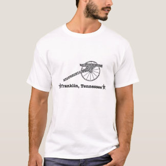 Franklin, Tennessee - batalla de Franklin Camiseta
