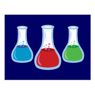 Frascos de la ciencia postal