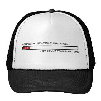 Frase sensata de compilación gorras de camionero