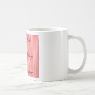 Frases del amor - rojo taza