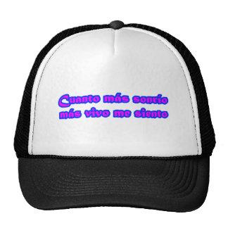 Frases principales 15,04 gorra