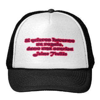 Frases principales 15,06 gorras de camionero