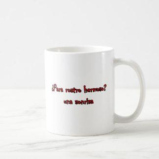 Frases principales 3 tazas de café
