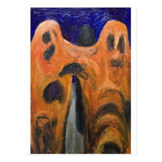 Fraternidad anaranjada (expresionismo de la postal