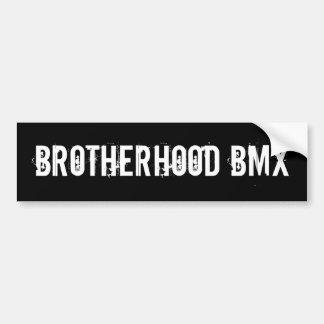 Fraternidad BMX Pegatina Para Coche