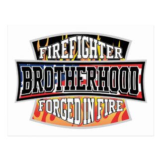 Fraternidad del bombero tarjetas postales