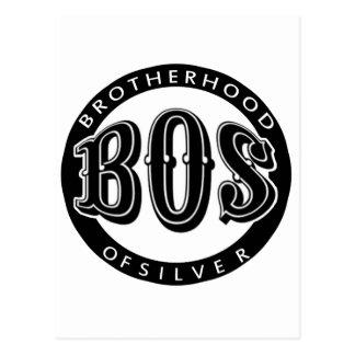 Fraternidad oficial del producto fanático de plata postal