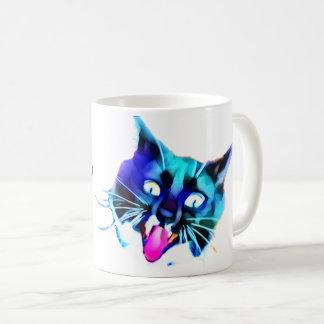 ¡FRAZZ! Taza loca del gato