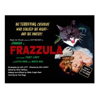 ¡Frazzula! Una postal del gato del monstruo