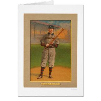 Fred Clarke piratea el béisbol 1911 Tarjeta