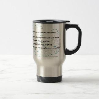Fred la ameba - un poema de la ciencia de taza de viaje
