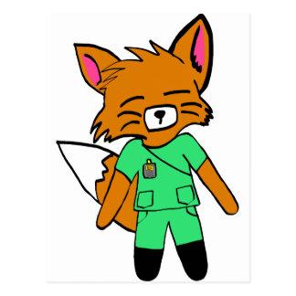Fred la enfermera Fox Postal