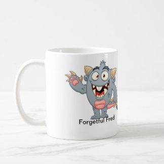 Fred olvidadizo taza de café
