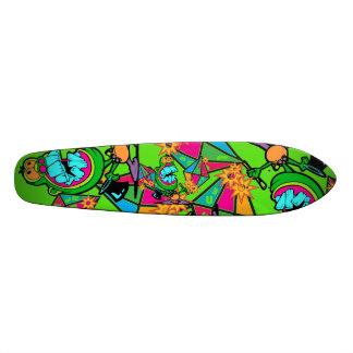Freddie retro Longboard Tablas De Skate