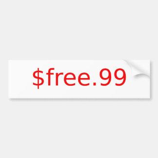 $free.99 pegatina para coche