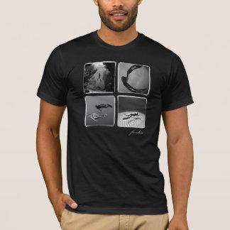freedive - orgánico. Para hombre negro Camiseta