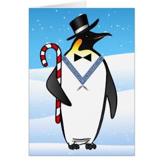 Freemason masónico de las tarjetas de Navidad el |