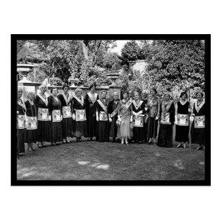 Freemasons femeninos postal