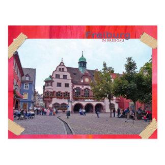 Freiburg en el máximo accidente previsible de puré postal