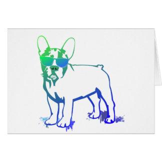 French Bulldog Cards Tarjeta De Felicitación