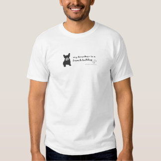 FrenchBulldogBlkWtBrother Camisetas