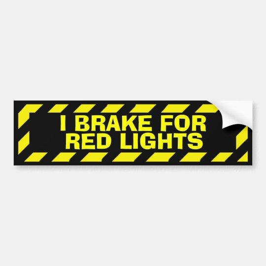 Freno para el pegatina amarillo de la precaución pegatina para coche