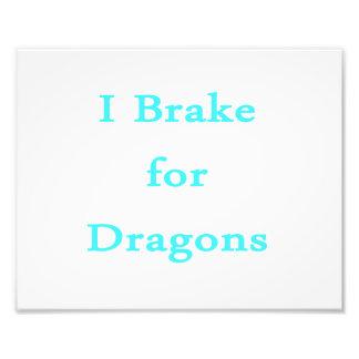 Freno para el trullo de los dragones fotografia