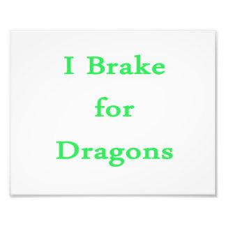 Freno para la menta de los dragones cojinete
