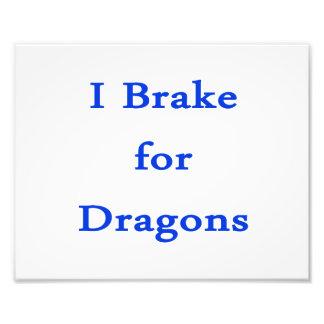 Freno para los dragones azules foto