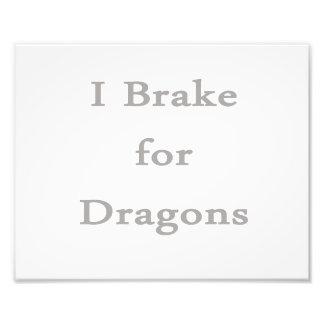Freno para los dragones grises arte fotográfico