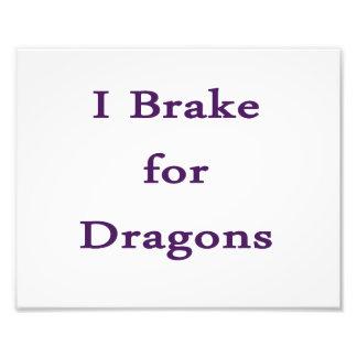 Freno para los dragones púrpuras fotografias