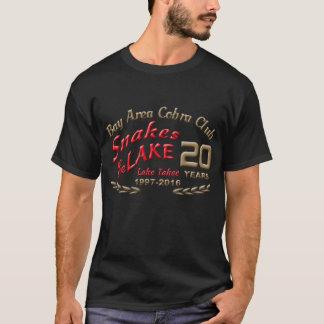 Frente básico del logotipo de 2016 serpientes camiseta