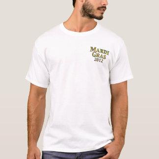 Frente de camisa del carnaval/2012 trasero
