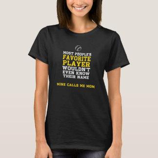 Camiseta Frente de camisa oscuro del jugador preferido del