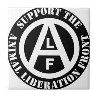 Frente de liberación animal vegetariano de la azulejo cuadrado pequeño