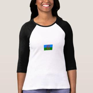 frente romani del zor, bandera (pequeña) encendido camiseta