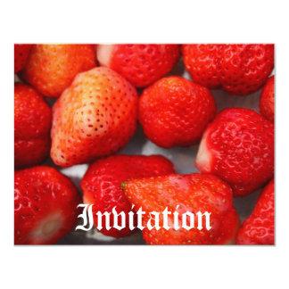 Fresa Invitación 10,8 X 13,9 Cm