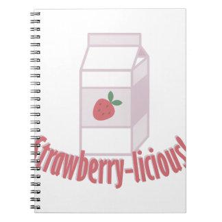 Fresa-licious Cuaderno