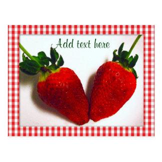 Fresa Lover_ Postal