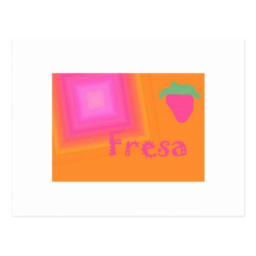 Fresa Tarjetas Postales