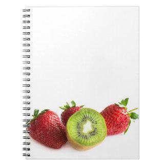 Fresas Cuaderno