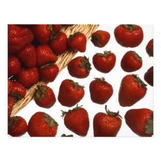 Fresas Folleto 21,6 X 28 Cm