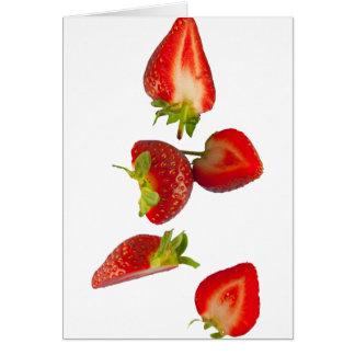 fresas tarjeta