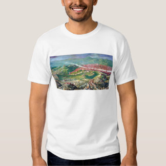 Fresco del cerco 1530 de Florencia de Jorge Camisetas
