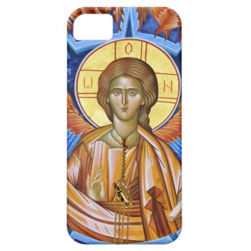 frescoe del Jesucristo iPhone 5 Case-Mate Cárcasas