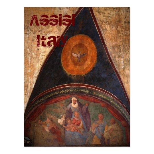 Frescos de Assisi Postal