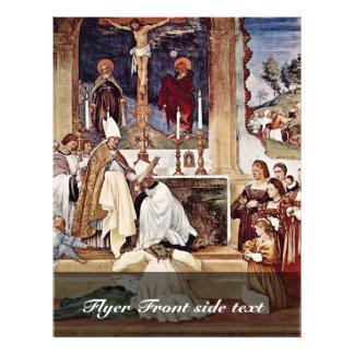 Frescos en Oratori Suardi en atuendo de la escena  Folleto 21,6 X 28 Cm