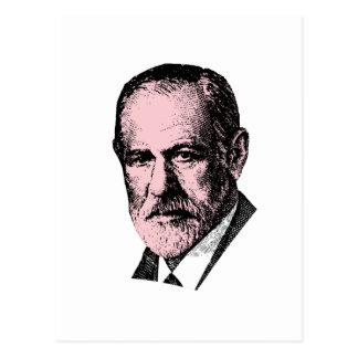 Freud rosado Sigmund Freud Postales