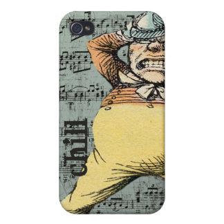 Frialdad - caso enojado del iPhone del hombre del iPhone 4 Coberturas